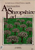 Ok�adka: Chorbajian John, Three Poems (From A Shropshire Lad)