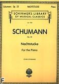 Ok�adka: Schumann Robert, Nachtst�cke, Op. 23