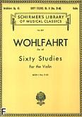 Okładka: Wohlfahrt Franz, 60 Etiud, op. 45 - cz. 2 (etiudy 31-60)