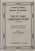 Okładka: Effinger Cecil, St. Luke Christmas Story