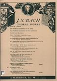 Ok�adka: Bach Johann Sebastian, Cantata No. 140: Wachet Auf
