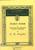 Okładka: Pergolesi Giovanni Battista, Stabat Mater