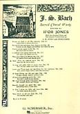 Ok�adka: Bach Johann Sebastian, Cantata No. 78: Jesu, Der Du Meine Seele