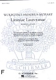 Okładka: Mozart Wolfgang Amadeusz, Litaniae Lauretanae K.109