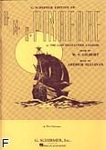 Okładka: Gilbert  and  Sullivan, H.M.S. Pinafore