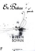 Ok�adka: Boykin Helen, En Bateau
