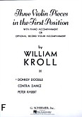 Ok�adka: Kroll William, Donkey Doodle (Piano / Violin)
