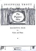 Okładka: Trott Josephine, Puppet Show, Op. 5, No. 1 (Piano / Violin)