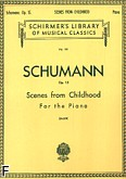 Okładka: Schumann Robert, Scenes from Childhood, Op. 15