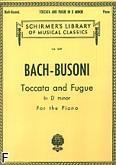 Okładka: Bach Johann Sebastian, Toccata And Fugue In D Minor ('dorian')