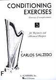 Ok�adka: Salzedo Carlos, Conditioning Exercises For Beginners And Advanced Harpists (Harp)