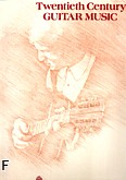 Ok�adka: , Twentieth Century Guitar Music