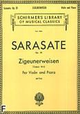 Okładka: Sarasate Pablo de, Zigeunerweisen Op. 20