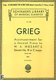 Ok�adka: Grieg Edward, Accompaniment For A 2nd Piano To Mozart Sonata K545
