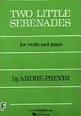 Okładka: Previn André, 2 małe serenady (Piano / Violin)
