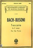 Okładka: Bach Johann Sebastian, Toccata In C