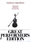 Okładka: Milstein Nathan, Paganiniana (Variations)