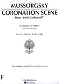 Ok�adka: Musorgski Modest, Coronation Scene (From Boris Godunov)