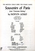 Okładka: Gould Morton, Souvenirs of Paris from
