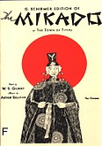 Okładka: Sulivan Arthur, Gilbert William Schwenk, The Mikado