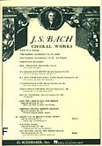Ok�adka: Bach Johann Sebastian, Cantata No. 4: Christ Lag In Todesbanden  (score)