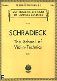 Okładka: Schradieck Henry, School Of Violin Technics Book 1