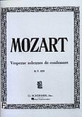 Ok�adka: Mozart Wolfgang Amadeusz, Vesperae Solennes De Confessore, KV 339