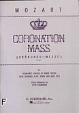 Ok�adka: Mozart Wolfgang Amadeusz, Msza koronacyjna, K.317