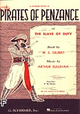 Ok�adka: Gilbert  and  Sullivan, The Pirates Of Penzance
