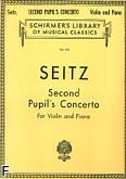 Okładka: Seitz Friedrich, Koncert uczniowski nr 2 G-dur, op. 13 (Piano / Violin)
