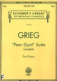 Ok�adka: Grieg Edward, Peer Gynt Suite (Complete) For Piano