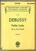 Okładka: Debussy Claude, Petite Suite for Piano, Four Hands