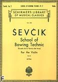 Ok�adka: Sevcik Otakar, Szko�a techniki smyczkowania, op. 2 - z. 2 (Violin)