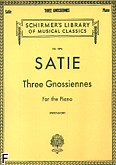 Okładka: Satie Erik, Three Gnossiennes For the Piano