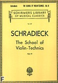 Ok�adka: Schradieck Henry, The School of Violin - Technics, Book 3