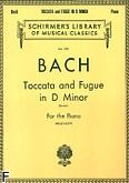 Okładka: Bach Johann Sebastian, Toccata and Fugue in D Minor