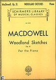 Okładka: MacDowell Edward, Woodland Sketches, Op. 51
