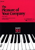 Ok�adka: Stecher Melvin, Horowitz Norman, Gordon C., The Pleasure Of Your Company - Book 1