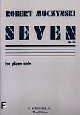 Okładka: Muczynski Robert, Seven, Op. 30
