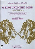 Ok�adka: H�ndel George Friedrich,  O Sing Unto The Lord (Psalm 96)