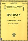 Okładka: Dvořák Antonin, Four Romantic Pieces, Op. 75 - for Piano and Violin