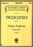Okładka: Prokofiew Sergiusz, Visions Fugitives, Op. 22