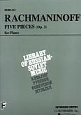 Ok�adka: Rachmaninow Sergiusz, 5 Pieces, Op. 3 (Vaap Edition)