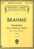 Okładka: Brahms Johannes, Variations On A Theme By Haydn, Op. 56b