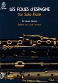 Okładka: Marais Marin, Les Folies D' Espagne for Solo Flute