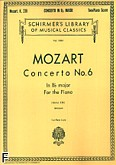 Okładka: Mozart Wolfgang Amadeusz, Concerto No. 6 In Bb, K.238
