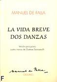 Okładka: Falla Manuel de, La Vida Breve Dos Danzas