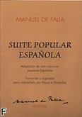 Okładka: Falla Manuel de, Suite Popular Espanola for Cello And Piano