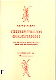 Ok�adka: Saint-Sa�ns Camille, Christmas Oratorio