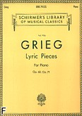 Ok�adka: Grieg Edward, Lyric Pieces - Volume 5: Op. 68, 71